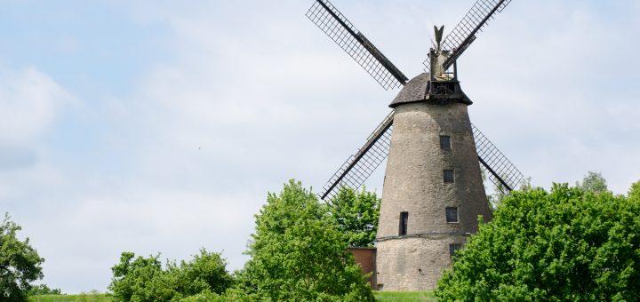 Mühlenlandschaften im windigen Norden