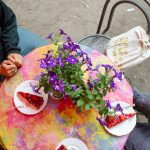Erdbeerleckerei, Lebensgarten